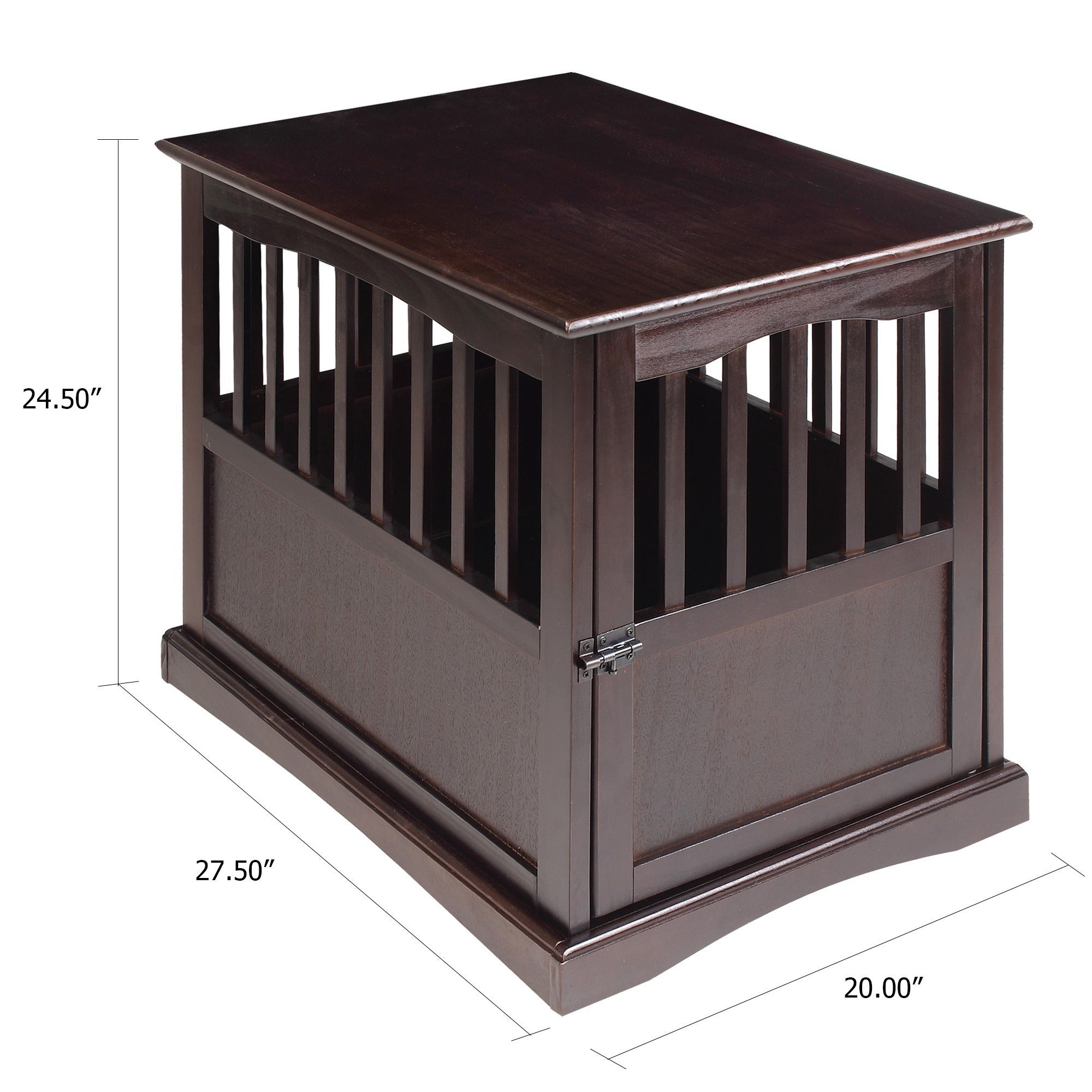 Wooden End Table and Pet Crate - Free Shipping Today - Overstock.com -  15293900