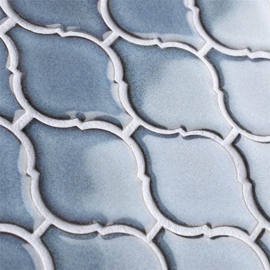 Shop SomerTile 9.875x11.125-inch Casablanca Orion Porcelain Mosaic ...
