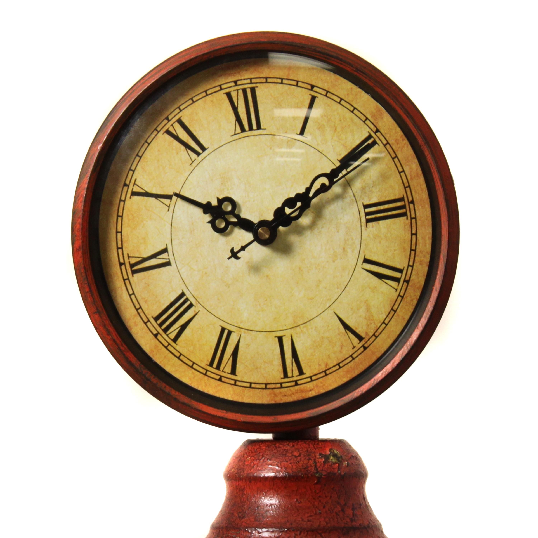 Shop Departures Antique Gas Pump Decorative Clock - Free Shipping ...