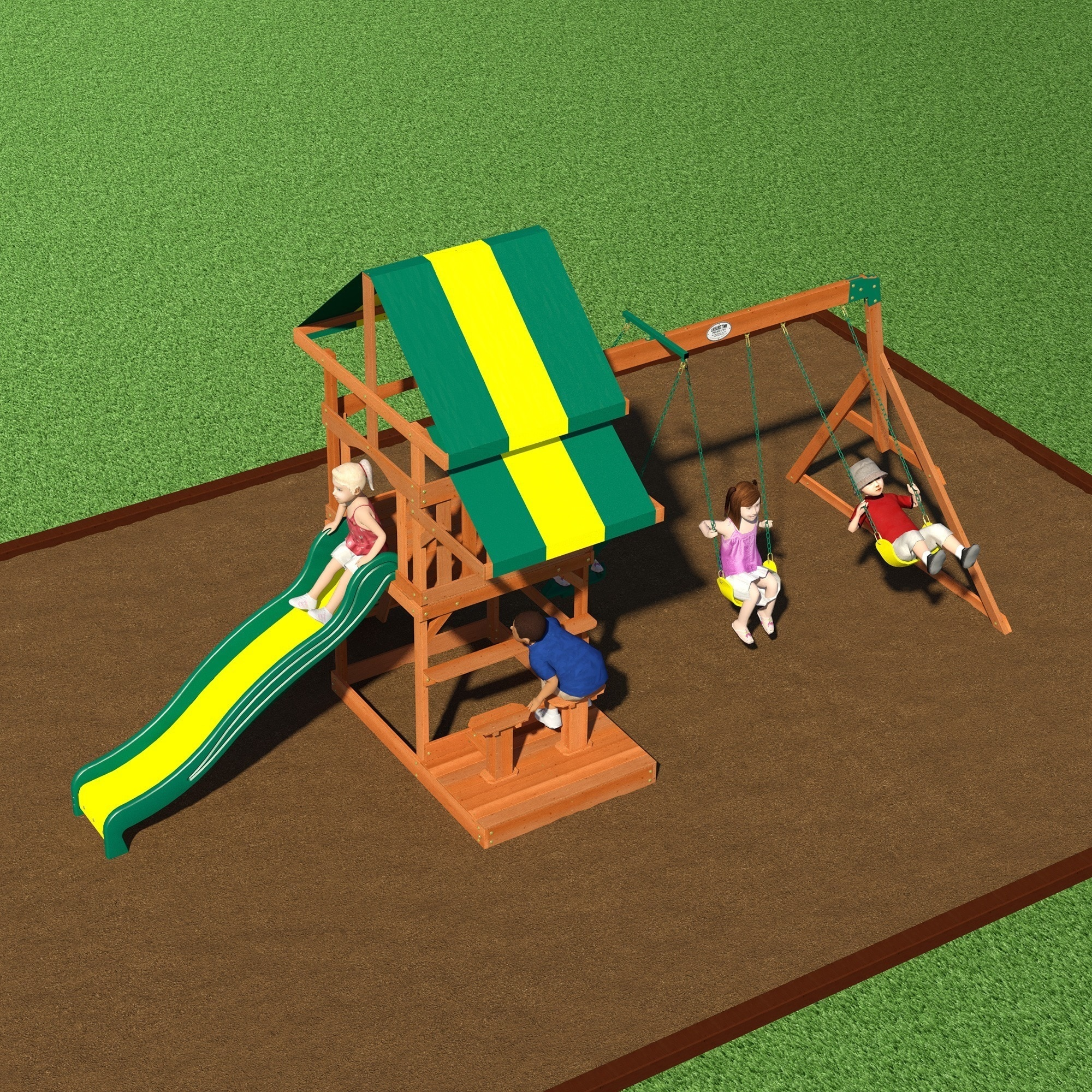 Backyard Discovery Independence Playset - Free Shipping Today -  Overstock.com - 15303579