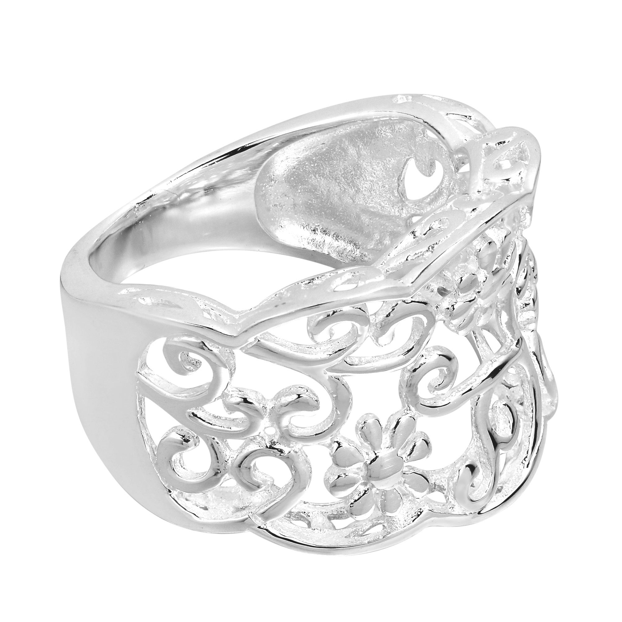 sterling prongs jewelry cabochon gallery pomellato rings product marcasite lyst silver in ringmarcasite ring