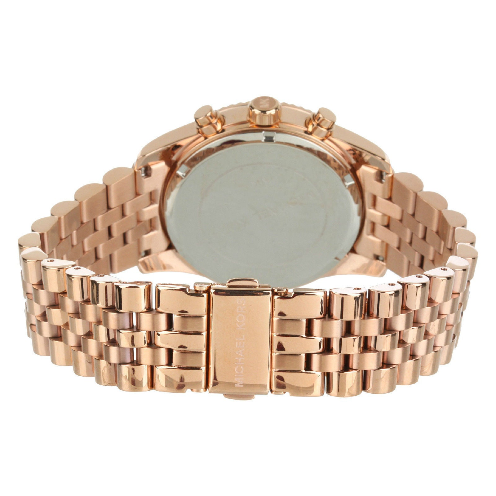 503f2a9cfb54 Shop Michael Kors Women s MK5569  Lexington  Rose Gold-Tone Watch - Free  Shipping Today - Overstock - 7942212