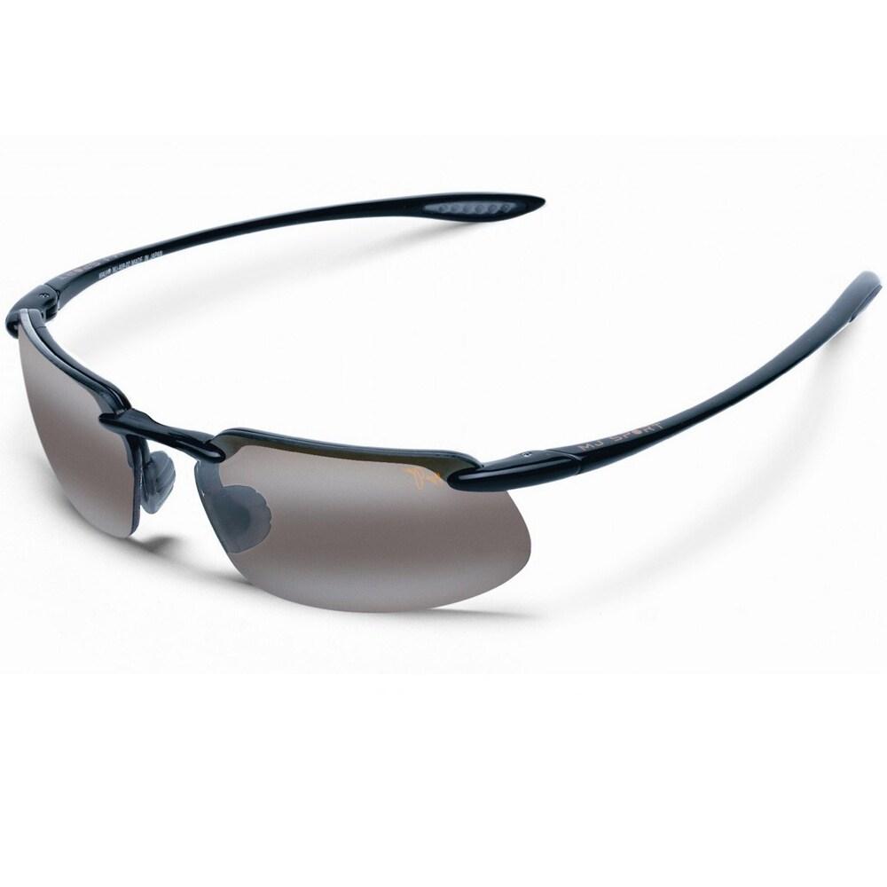 6725e7c3f68c5 Shop Maui Jim Unisex  Kanaha  H409 02 Semi Rimless Sport Sunglasses - Free  Shipping Today - Overstock - 7942855