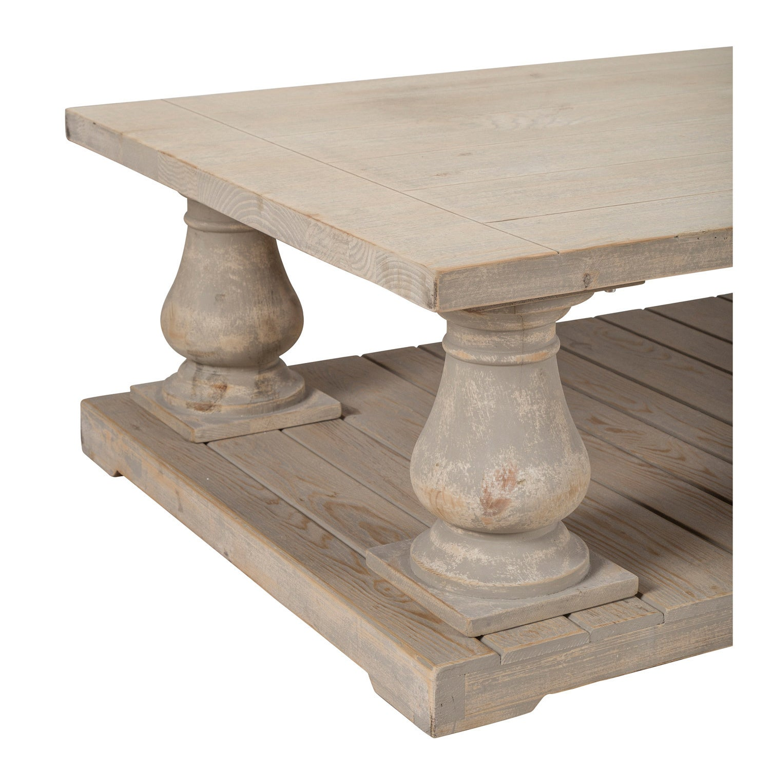 Wilson Antique White Reclaimed Pine Coffee Table By Kosas Home   Free  Shipping Today   Overstock.com   15320016