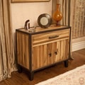 El Paso Acacia Wood Storage Hutch by Christopher Knight Home