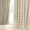 Exclusive Fabrics Nairobi Desert Printed Cotton Curtain Panel