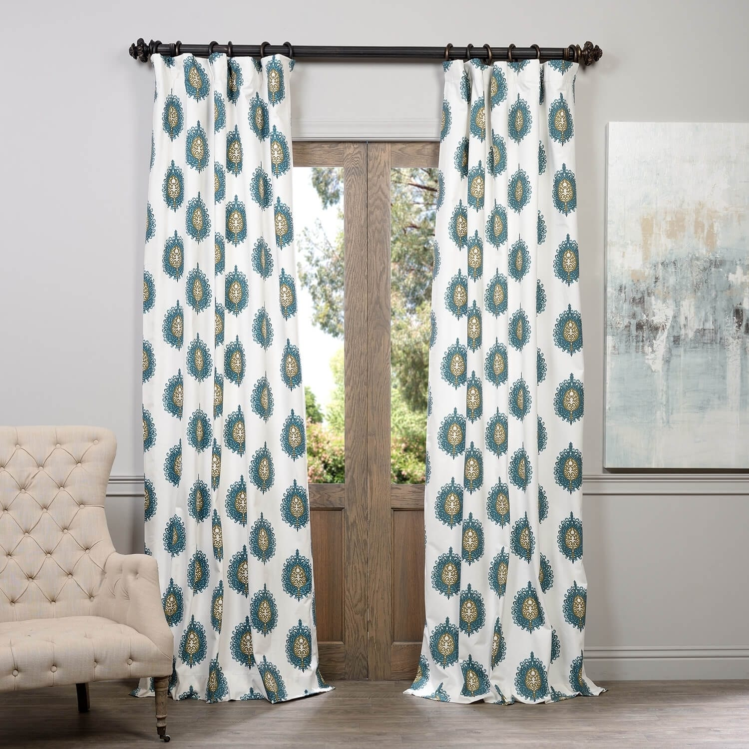 key grommets greek teal ip with walmart gardens better curtain curtains bdab panel com and homes