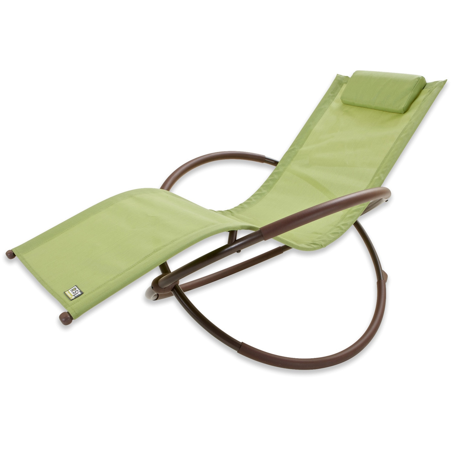rst brands orbital zero gravity patio lounger rocking chair - free