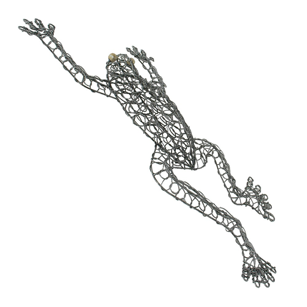 Shop Hand-woven Wire Frog Decorative Figurine, Handmade in Indonesia ...