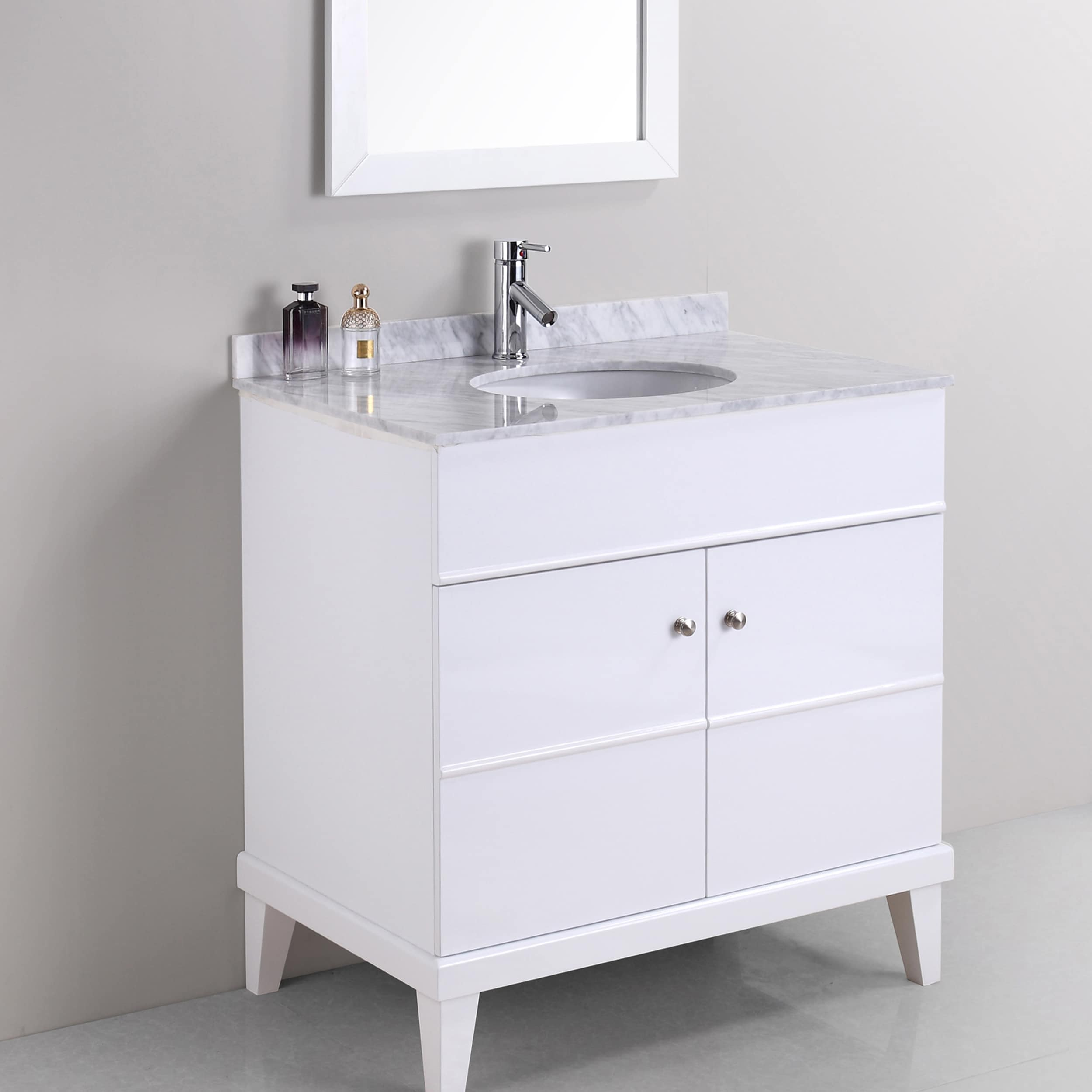 Shop Khloe 34-inch Single-sink Vanity Set - Free Shipping Today ...