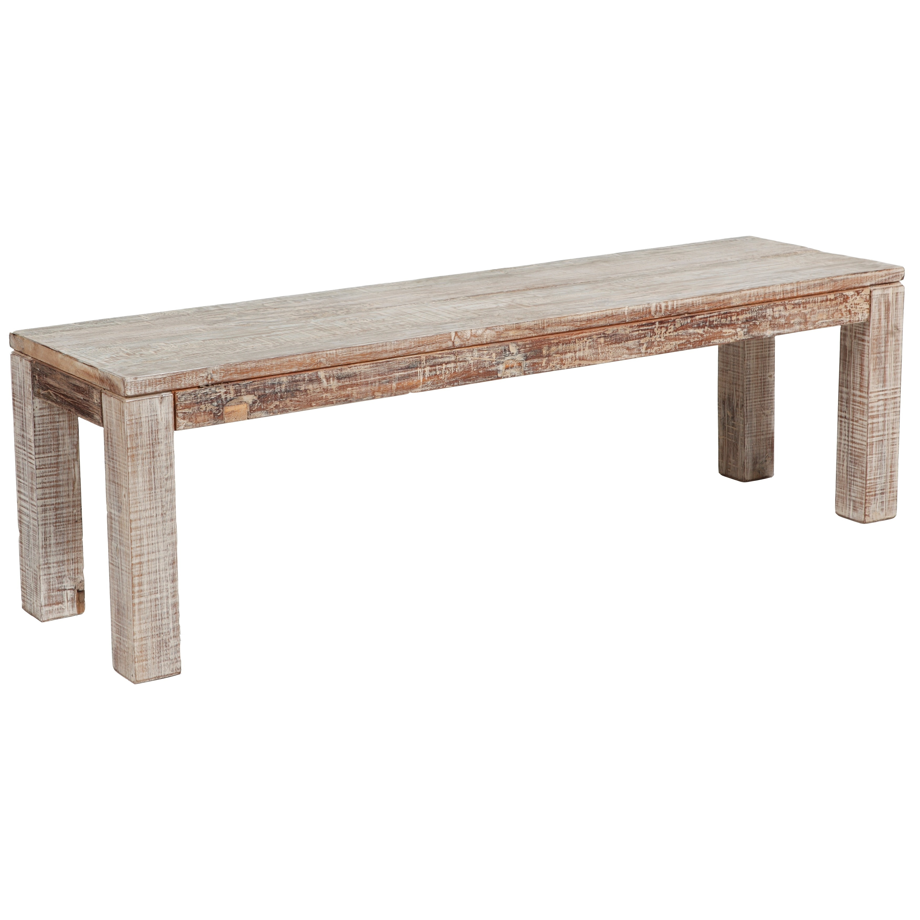 Hamshire Reclaimed Wood 60 Inch Bench By Kosas Home   Free Shipping Today    Overstock.com   15352510