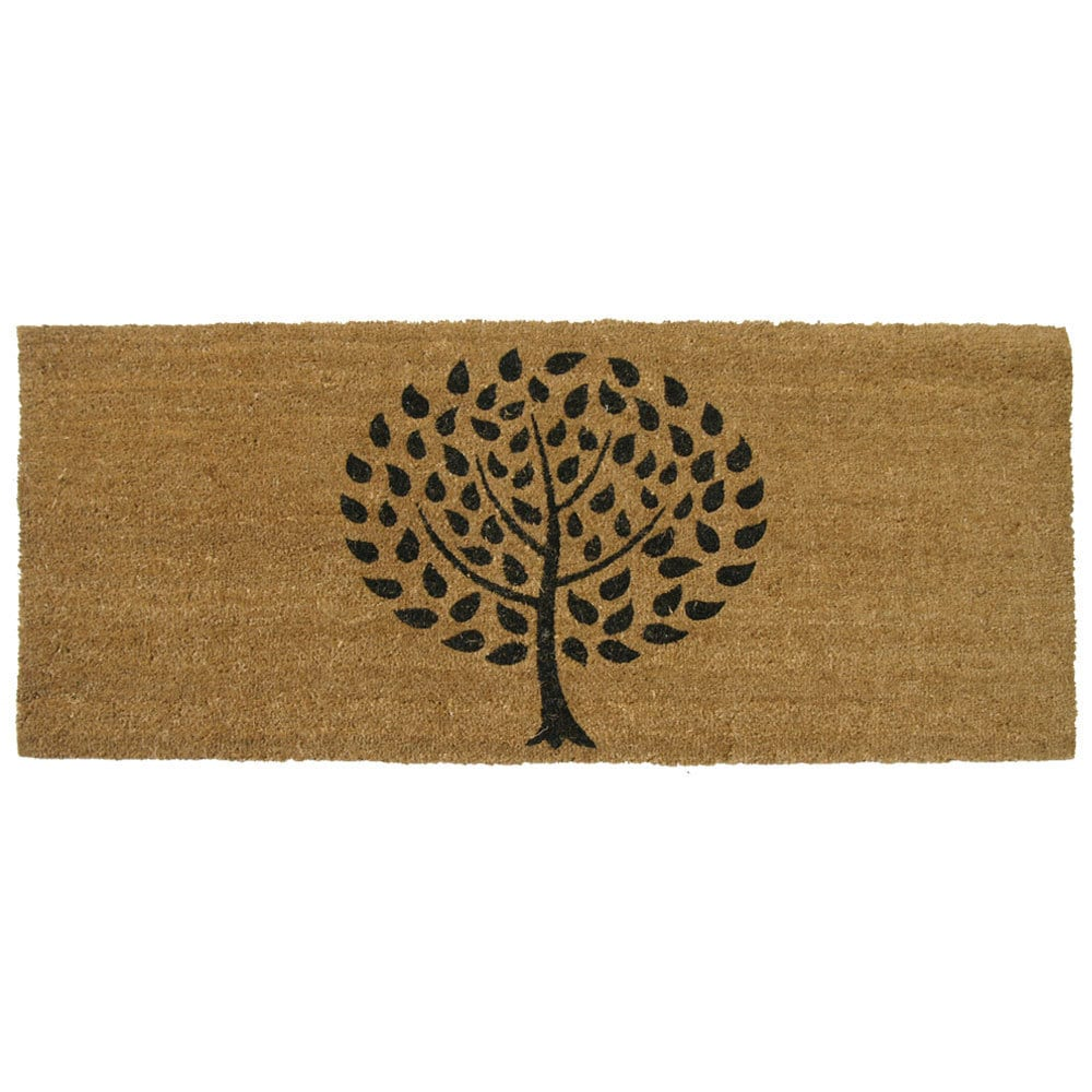 Shop Rubber-Cal Modern Landscape Contemporary Door Mat (24 x 57) - Free Shipping On Orders Over $45 - Overstock.com - 7984189  sc 1 st  Overstock & Shop Rubber-Cal Modern Landscape Contemporary Door Mat (24 x 57 ...