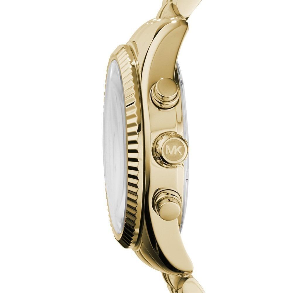 354510011028 Shop Michael Kors Women s MK5556  Lexington  Chronograph Watch - Gold -  Free Shipping Today - Overstock - 7984537