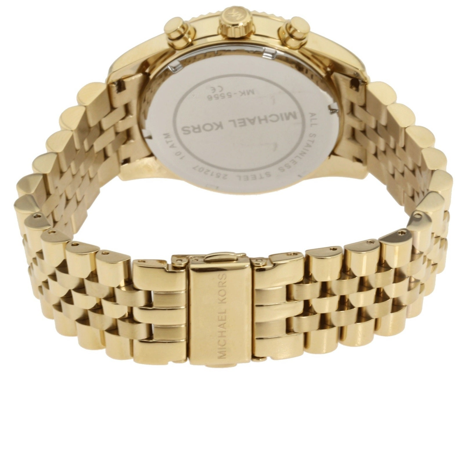 d533a4a3ead6 Shop Michael Kors Women s MK5556  Lexington  Chronograph Watch - Gold -  Free Shipping Today - Overstock - 7984537