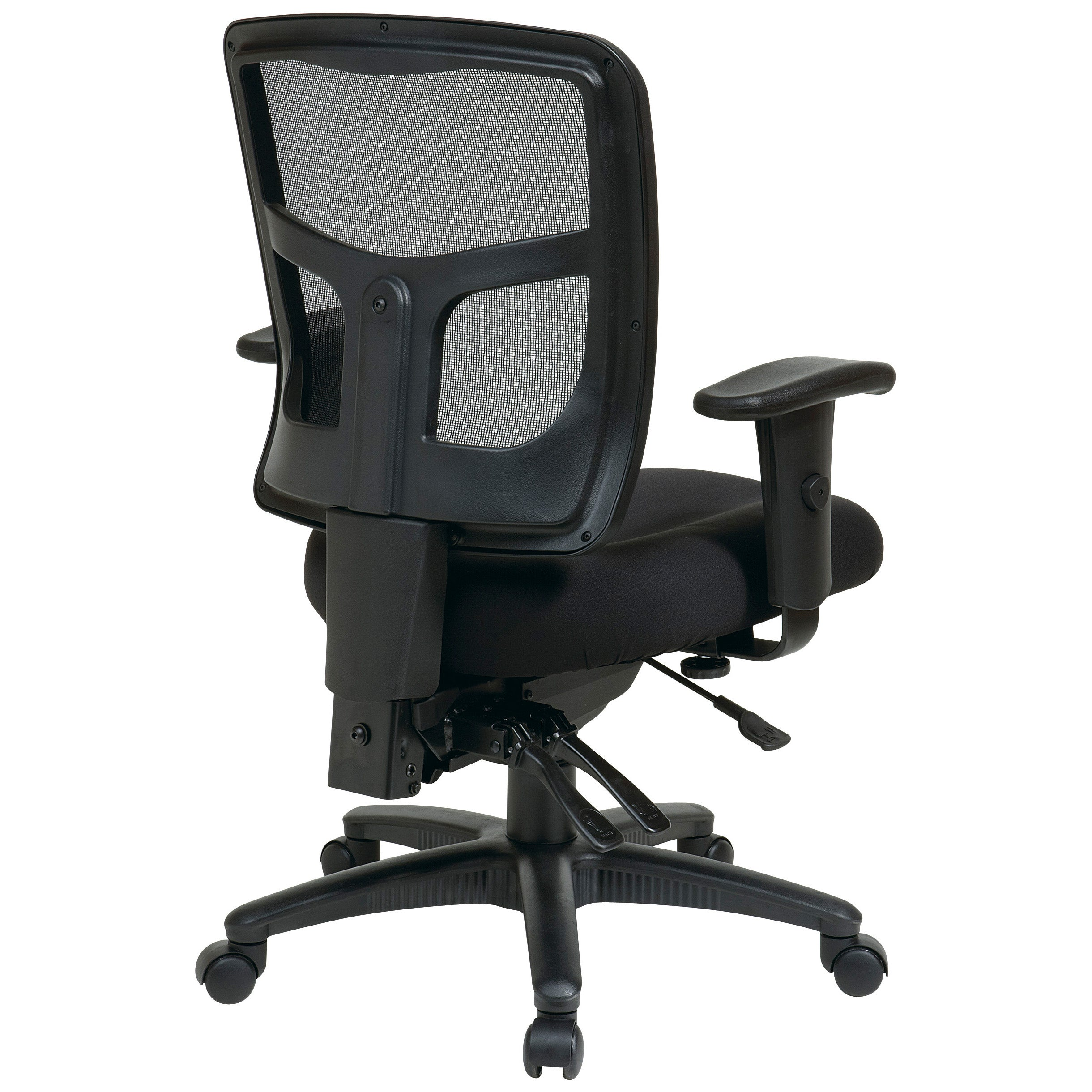 Charming Office Star Pro Line II Breathable ProGrid Ratchet Back Office Chair   Free  Shipping Today   Overstock.com   15354508