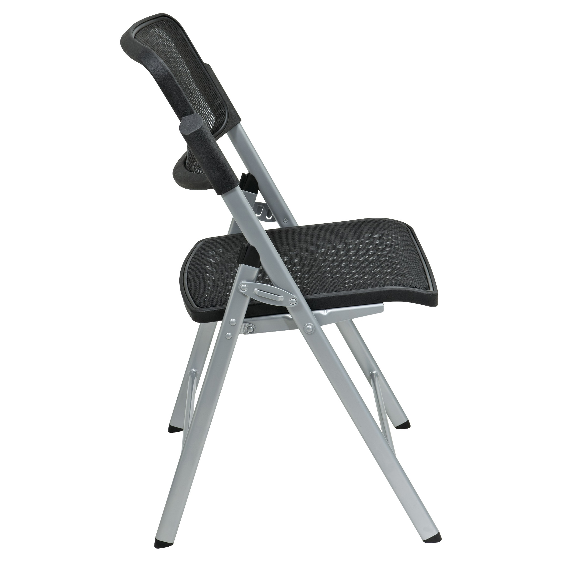 Shop Pro Line II Big U0026 Tall Armless Padded Folding Chair   Free Shipping  Today   Overstock.com   7986426