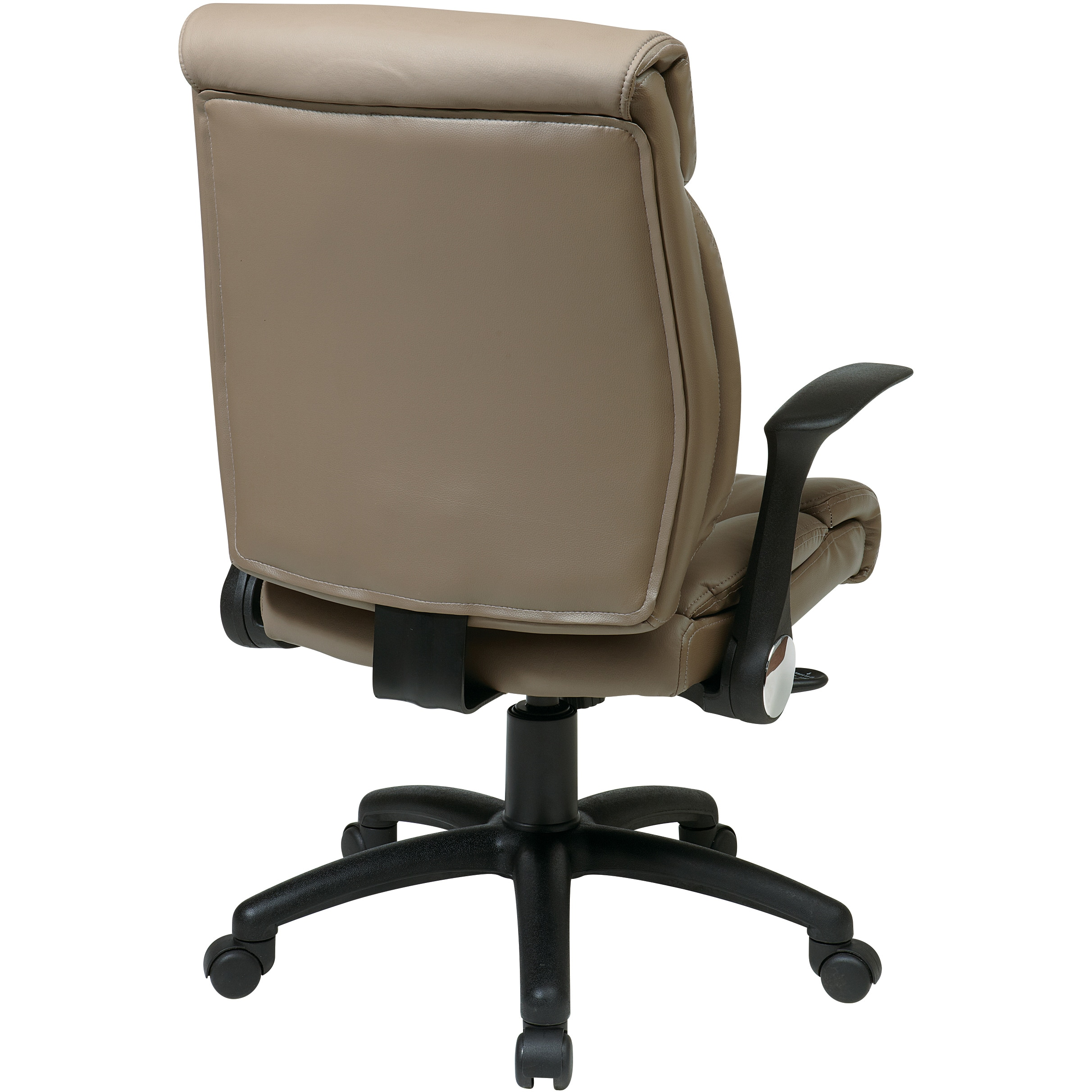 Shop Office Star Products U0027Work Smartu0027 Faux Leather Seat And Back Manageru0027s  Chair   Free Shipping Today   Overstock.com   7986456