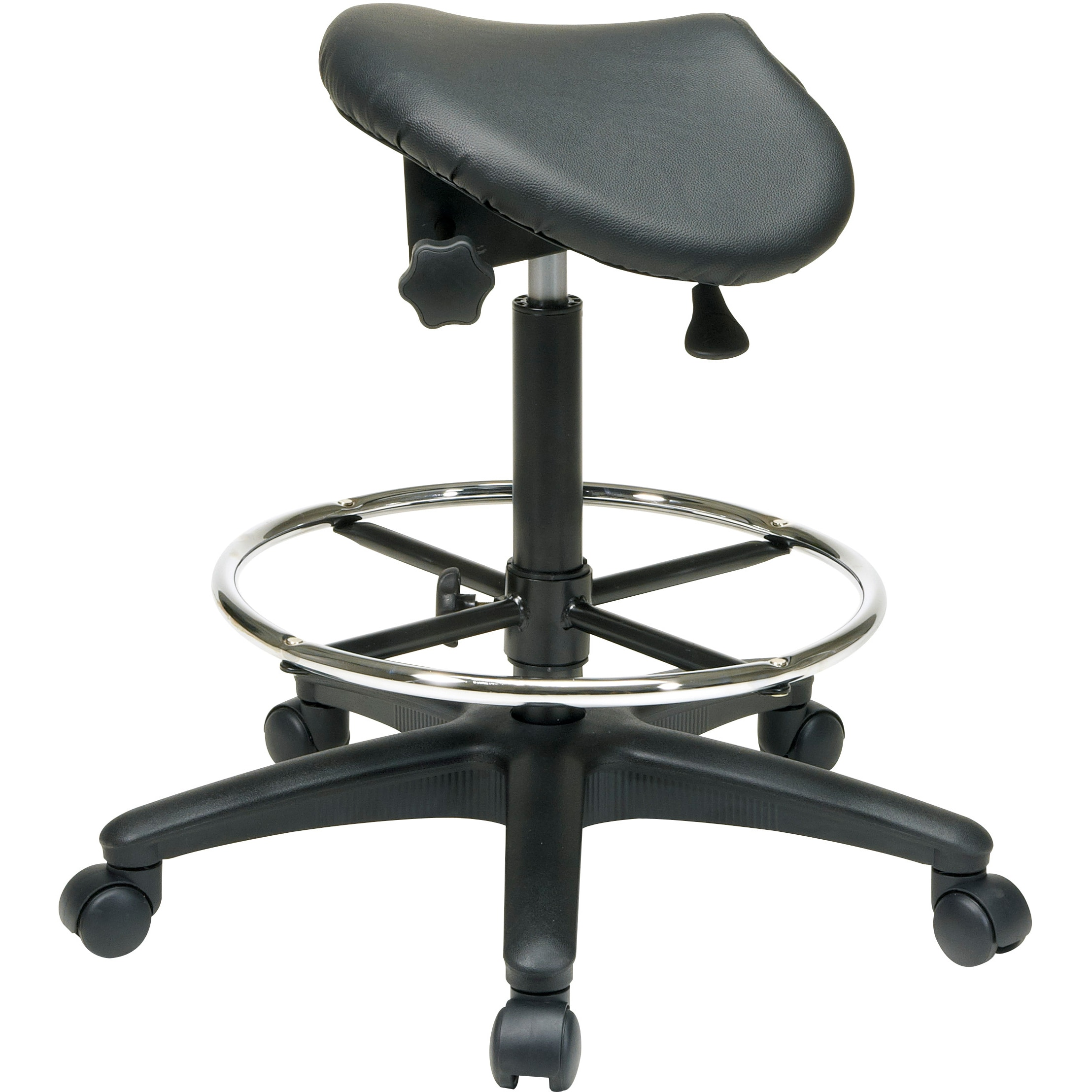 product shipping free home overstock stool today garden saddle grice seat