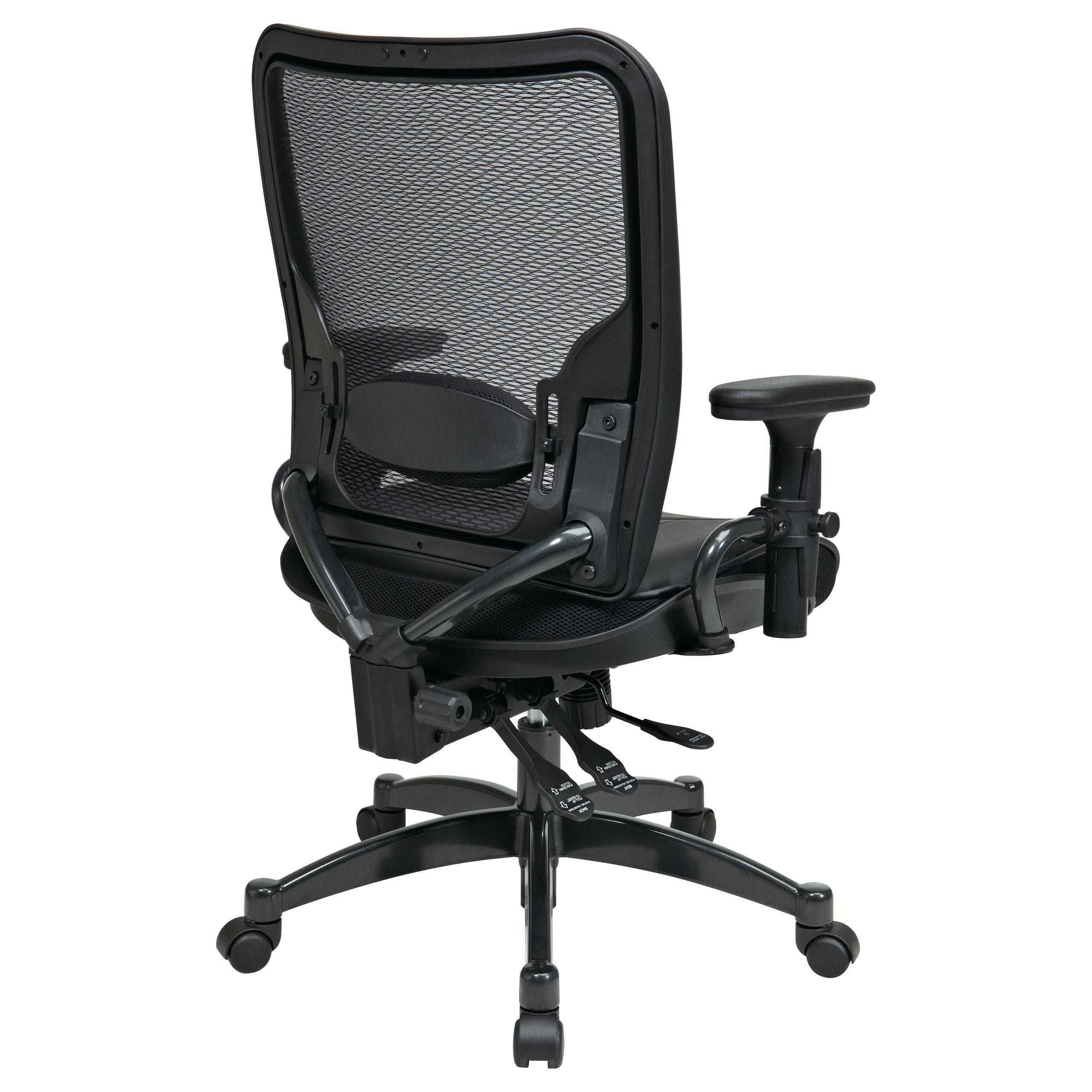 Charmant Shop Office Star Products Space 68 Series Breathable Dark Air Grid Chair    On Sale   Free Shipping Today   Overstock.com   7986980