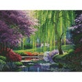 The Willow Pond Needlepoint Kit