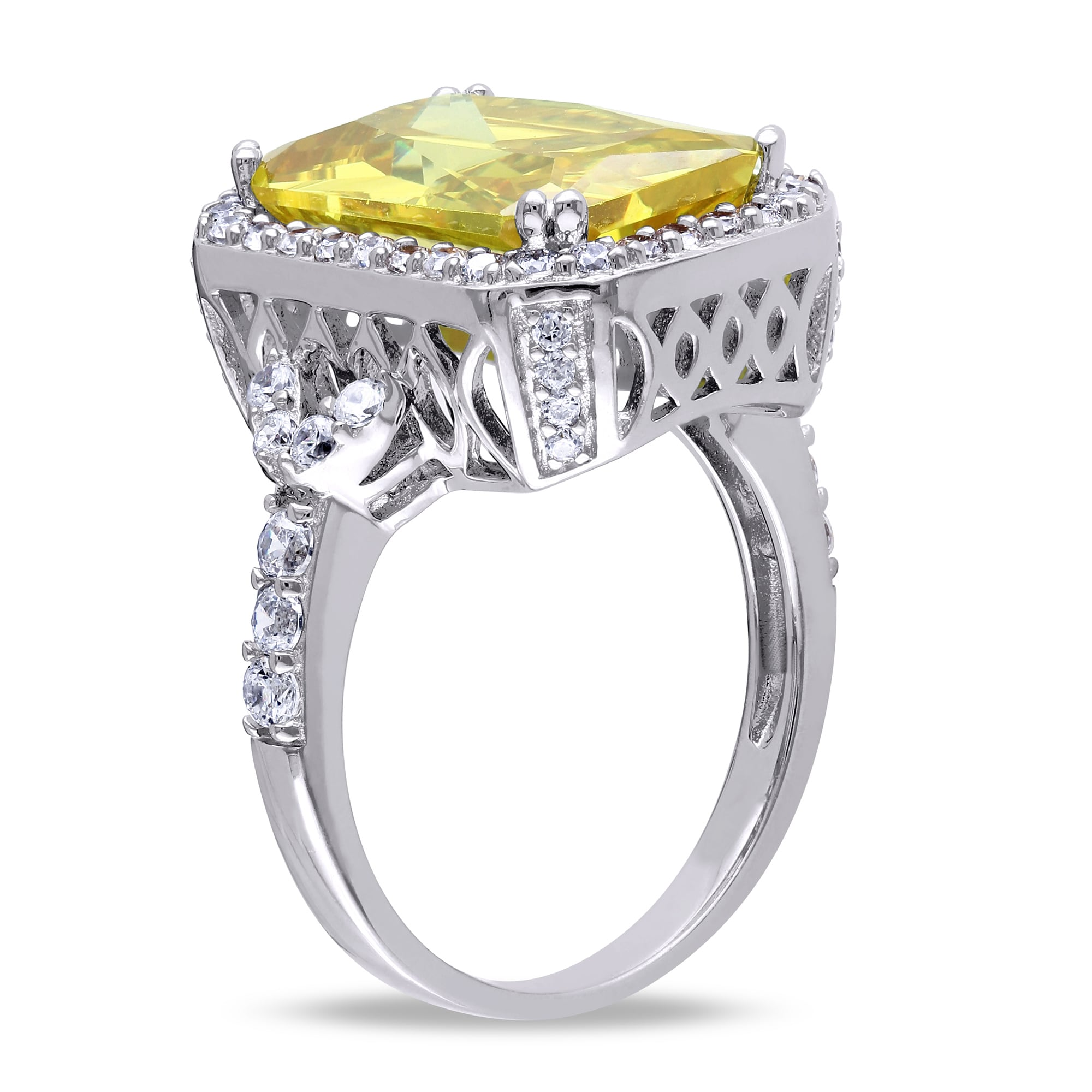 and white in diamond image oval gold halo emerald ring