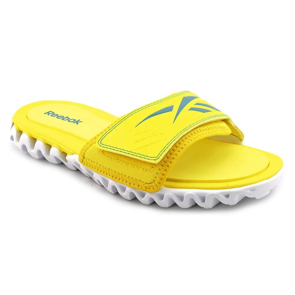 Shop Reebok Women s  Zignano Slide  Synthetic Sandals (Size 7 ... fd10419fb