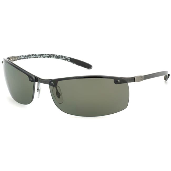 0dfcff7ab6 Shop Ray-Ban Men s  RB 8305 Carbon Fiber 122 9A  Dark Carbon Sport  Sunglasses - Free Shipping Today - Overstock - 6843294
