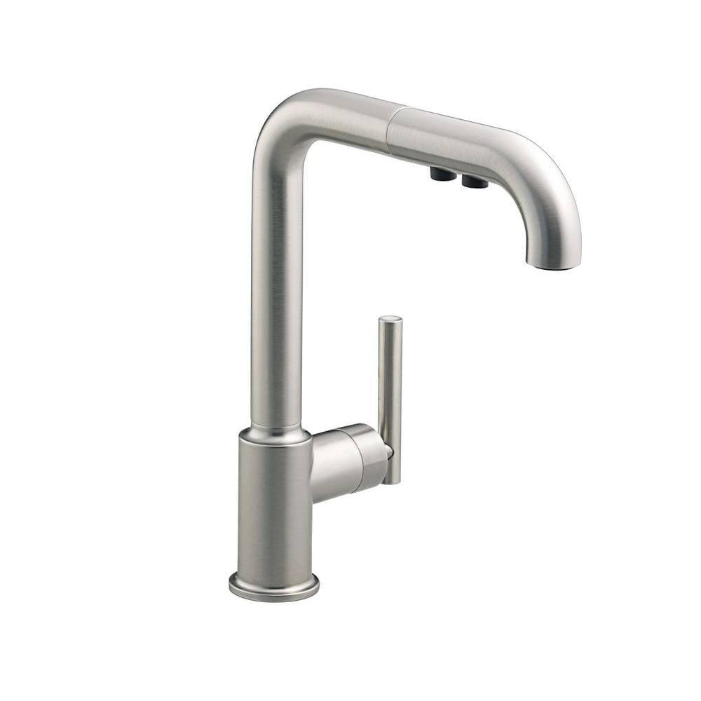 Kohler Purist Primary Pullout Kitchen Faucet - Free Shipping Today ...