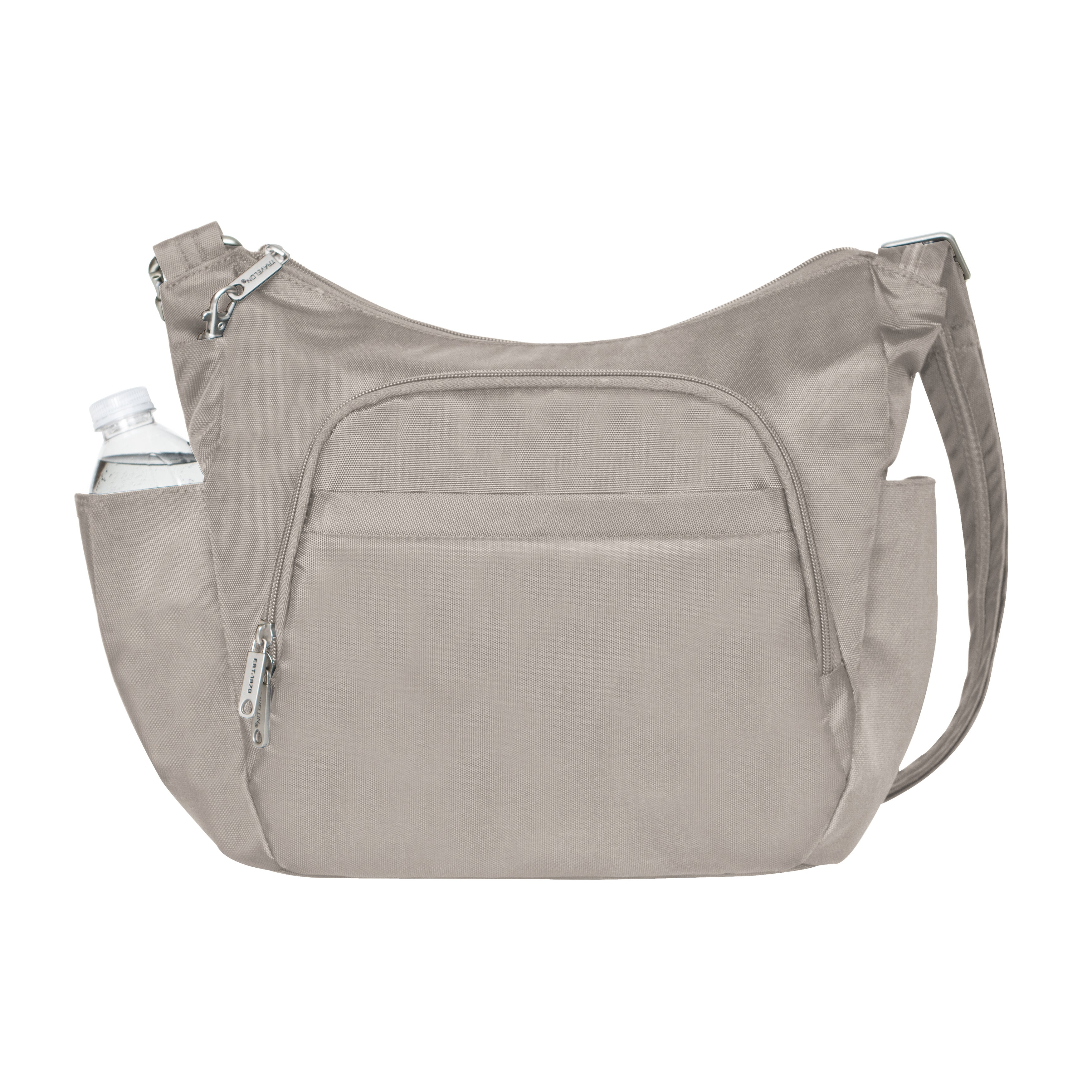 636196cc4cb5 Travelon Anti-theft Classic Cross-body Bucket Bag