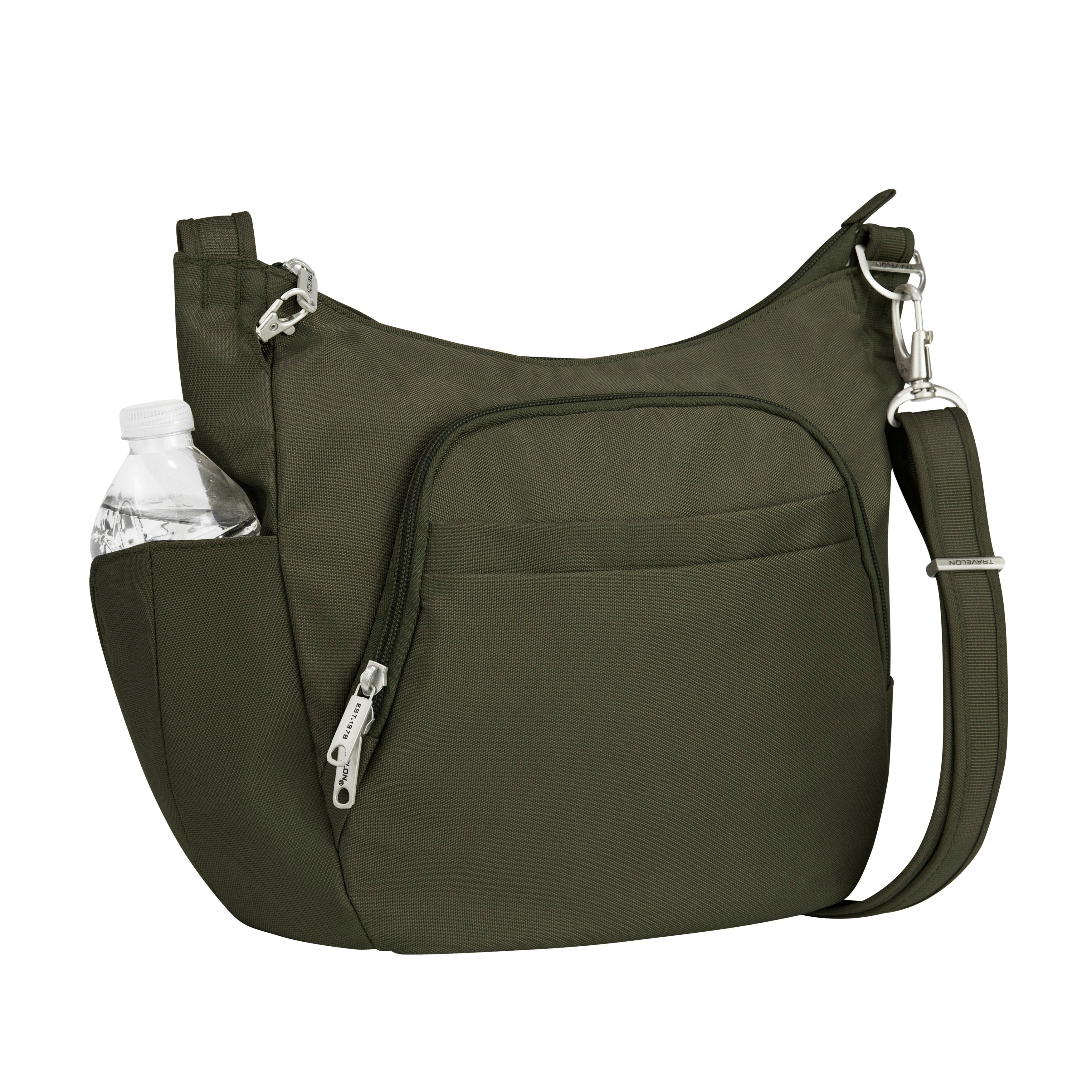 b1ee810e0b20 Shop Travelon Anti-theft Classic Cross-body Bucket Bag - Free ...