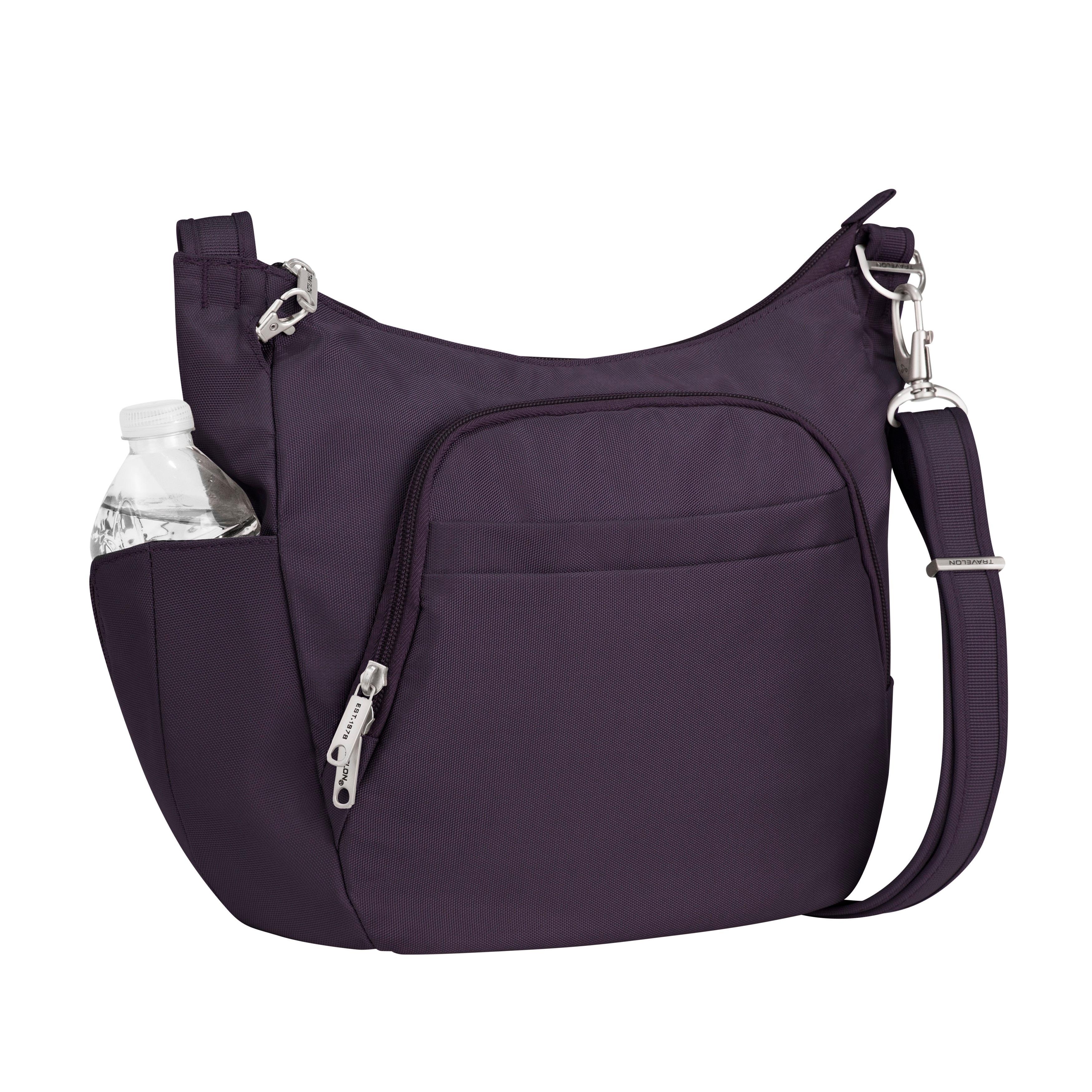 ea83331e58b3b5 Shop Travelon Anti-theft Classic Cross-body Bucket Bag - Free Shipping On  Orders Over $45 - Overstock - 8003323