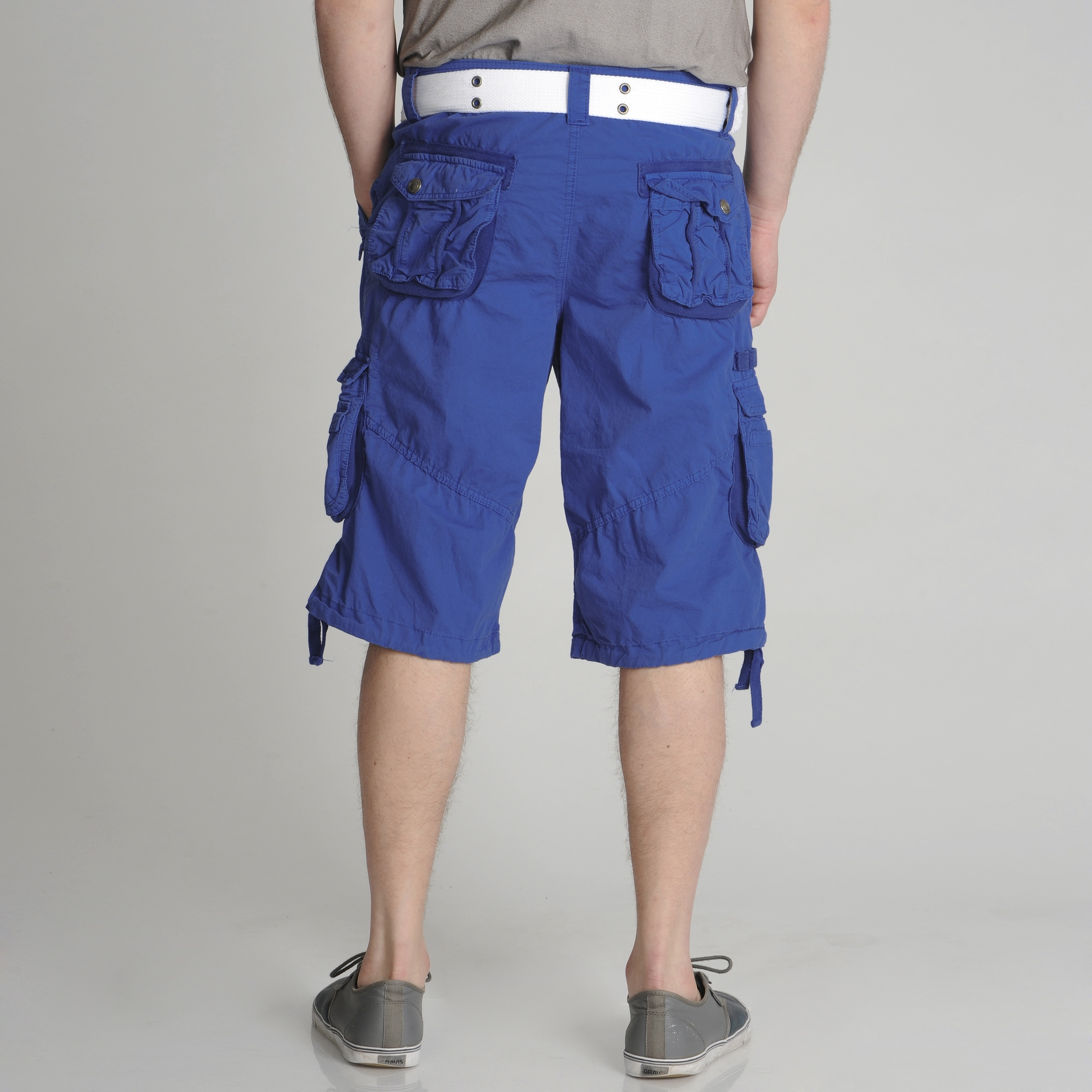 fd7e3a4659 Shop XRAY Jeans Men's Belted Cotton Cargo Shorts - Free Shipping On Orders  Over $45 - Overstock - 8004461
