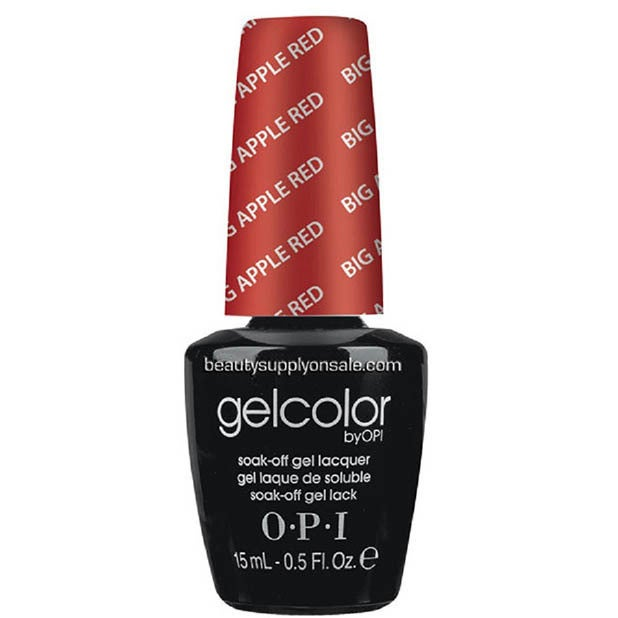 Shop OPI Gelcolor Big Apple Red Soak-Off Gel Nail Lacquer - Free ...