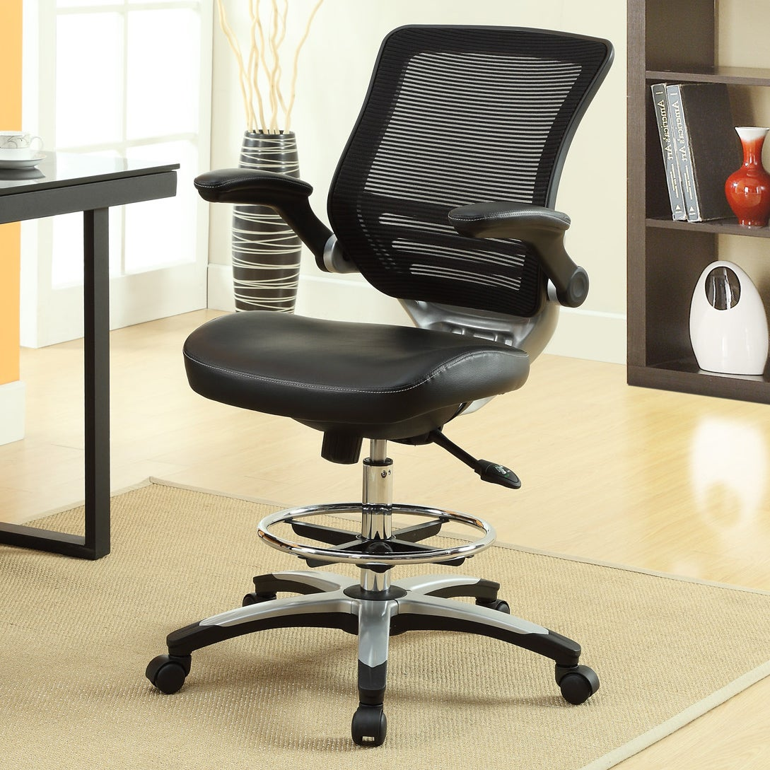 shop oliver james berge office drafting chair on sale free