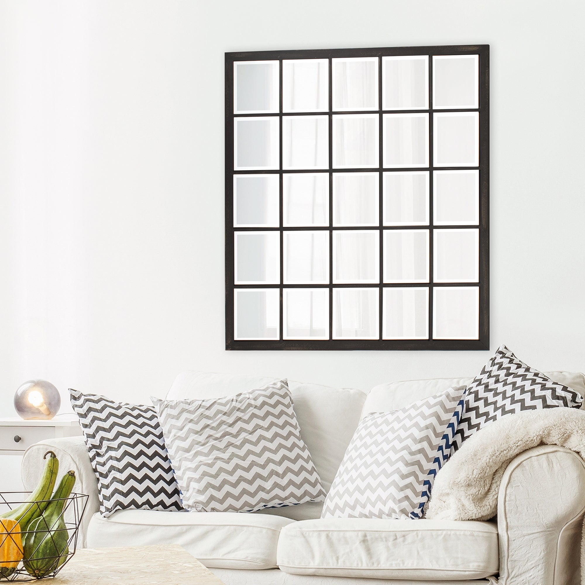 Superior Square Frame Mirror Free Shipping Today Overstock