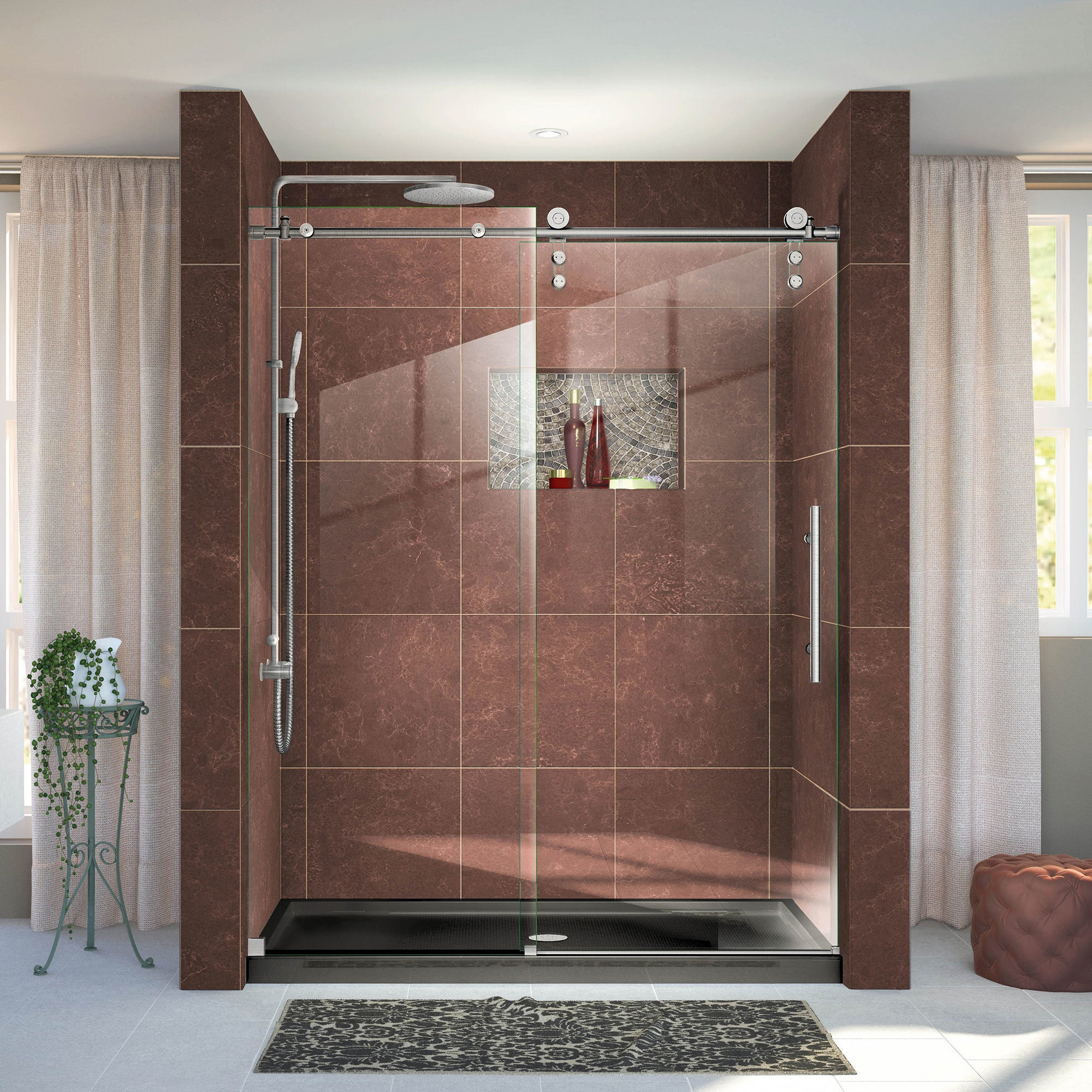 Contemporary Overstock Frameless Shower Doors Image Collection
