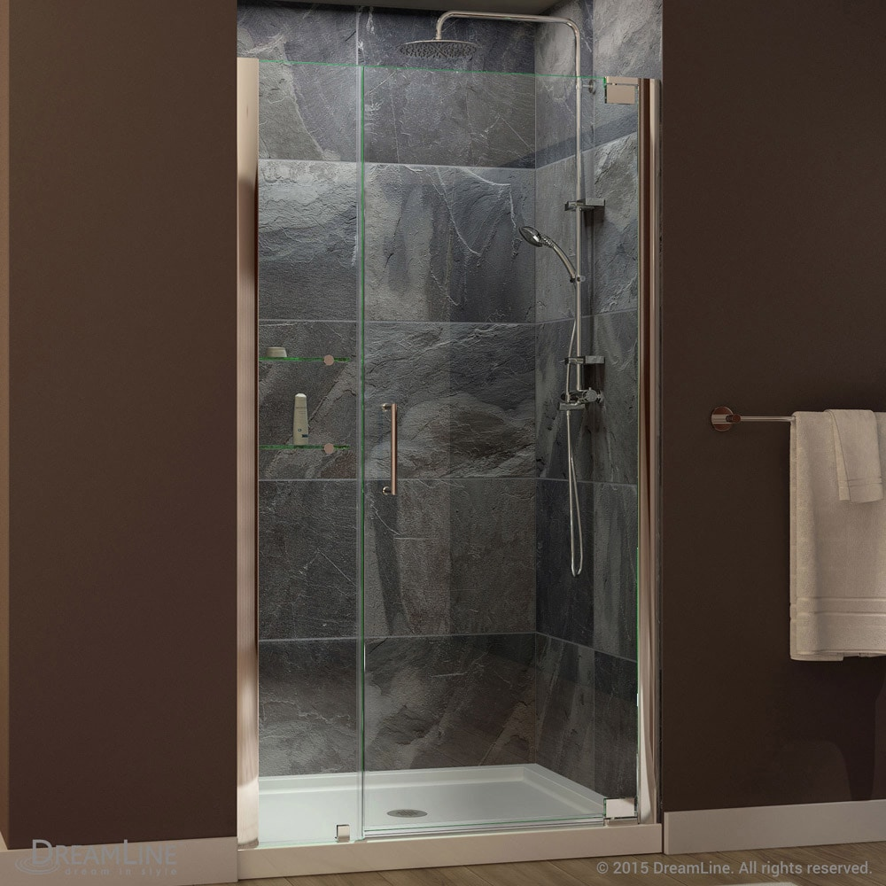 Dreamline elegance 46 to 48 in frameless pivot shower door free dreamline elegance 46 to 48 in frameless pivot shower door free shipping today overstock 15379537 eventshaper