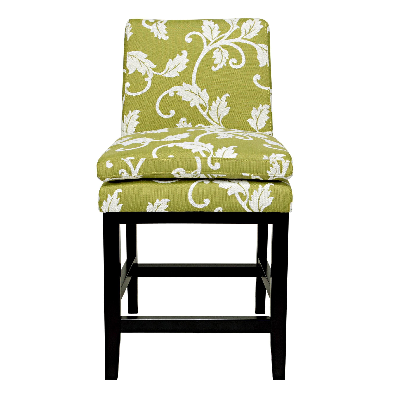 Shop Handy Living Marnie Spring Leaf Upholstered 23 Inch Bar Stool