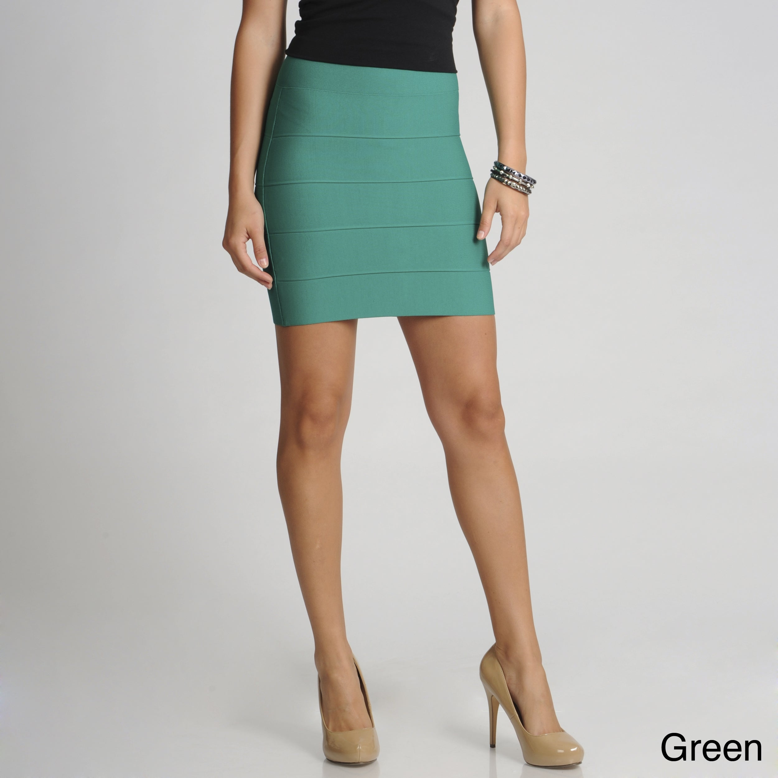 2f5eab997 Shop BCBGMAXAZRIA Women's Mini Bandage Skirt - Free Shipping Today -  Overstock - 8021762
