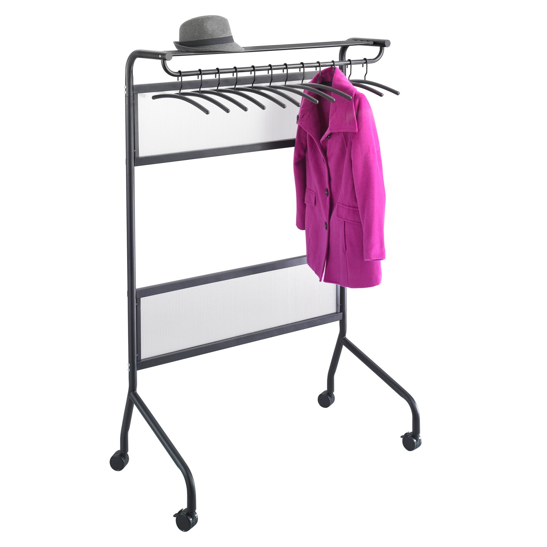 Shop Safco Impromptu Garment Rack - On Sale - Free Shipping Today -  Overstock.com - 8022429