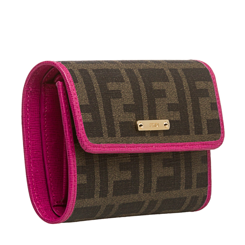 7960c1bf Fendi Zucca Bi-fold Wallet