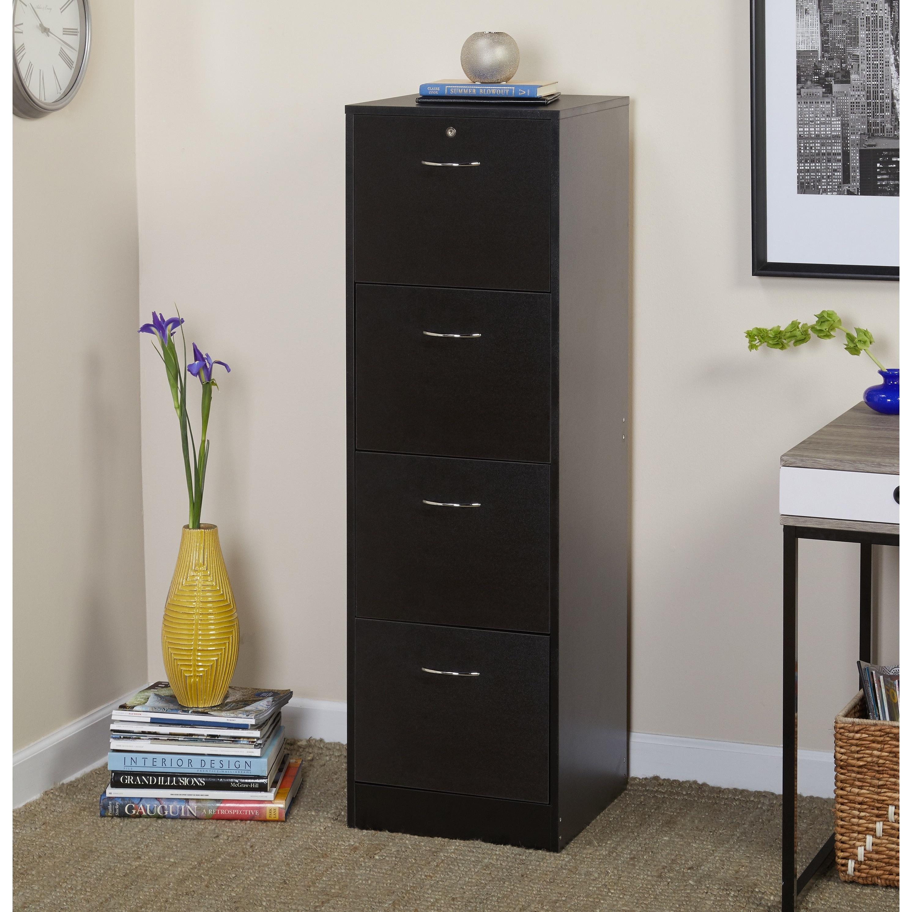 Shop Simple Living Wilson Filing 4 drawer Cabinet Sale Free