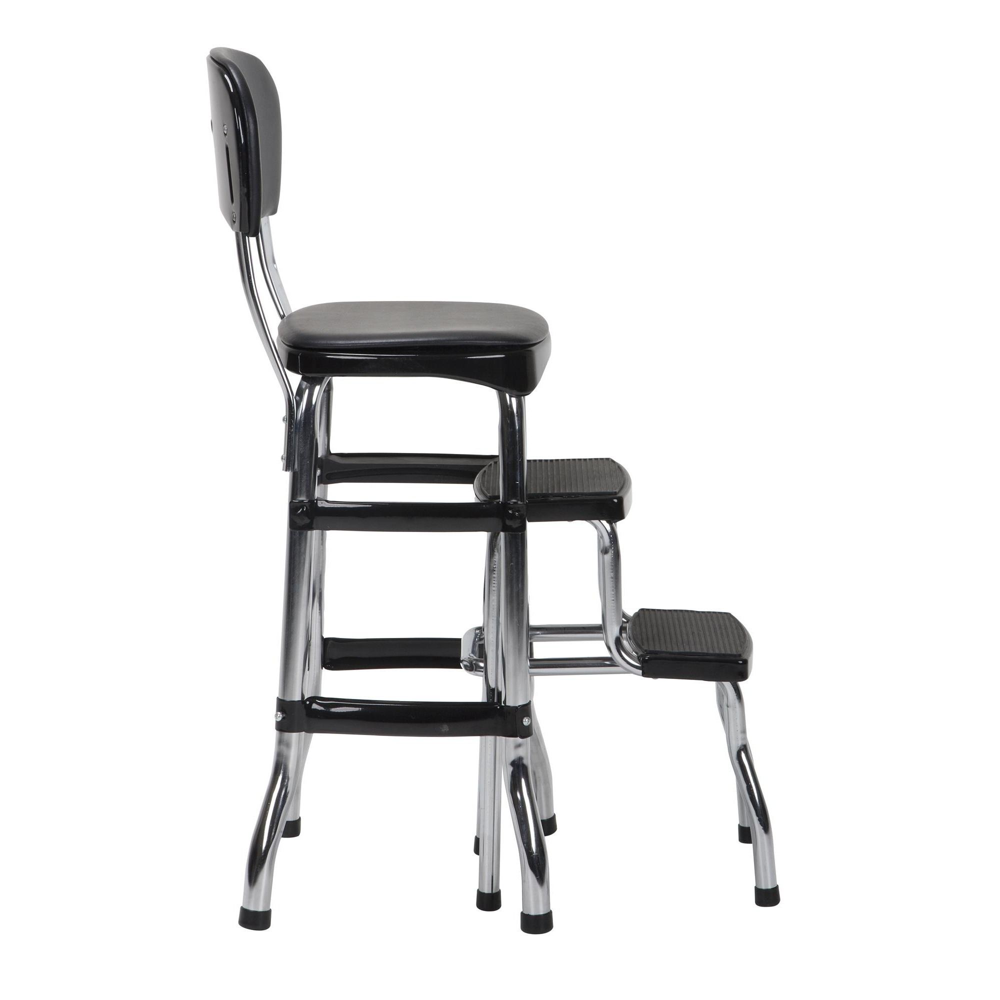 Shop Cosco Retro Counter Chair / Step Stool   On Sale   Free Shipping Today    Overstock.com   8026500
