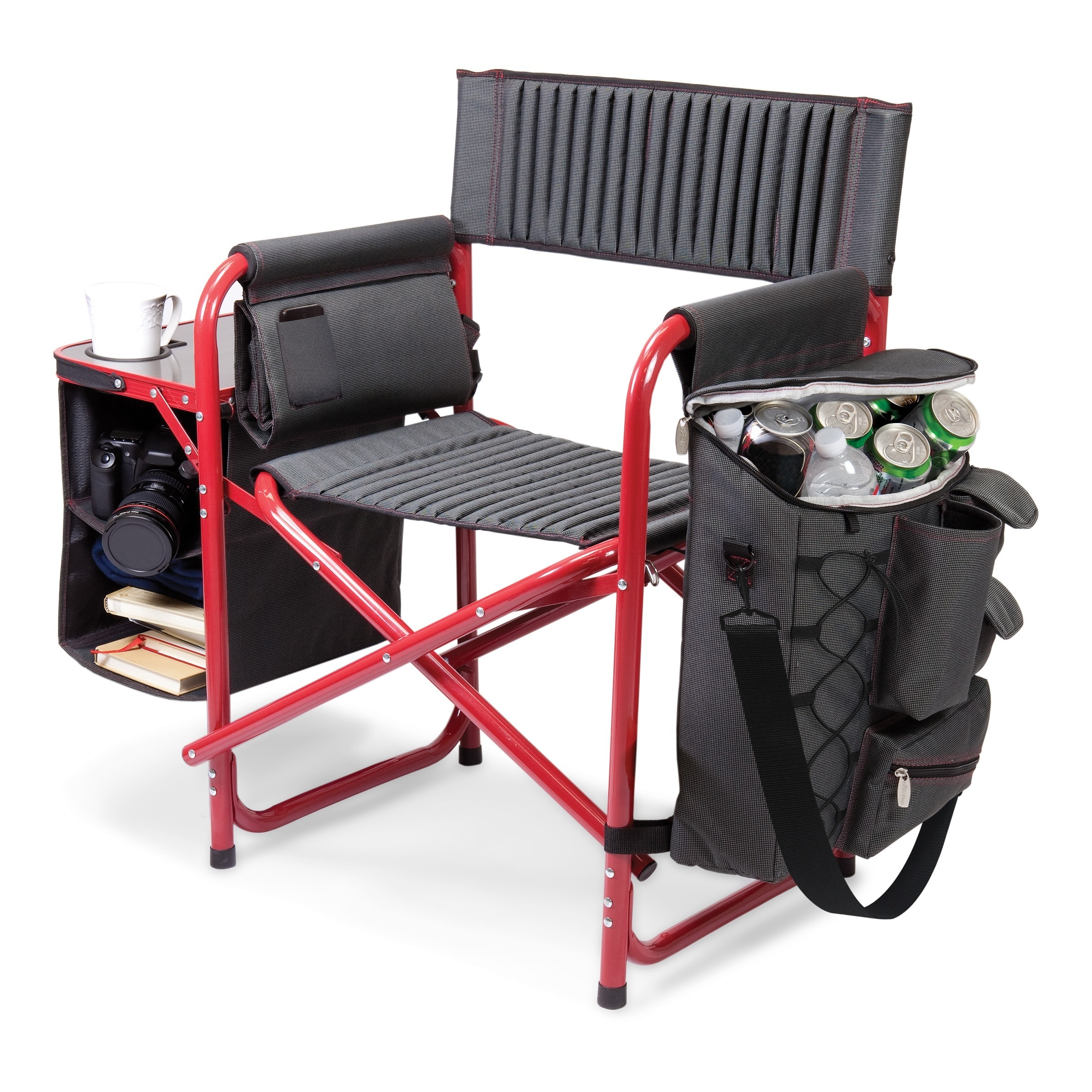 Picnic Time Fusion Collapsible Storage Chair Free Shipping Today 8028632