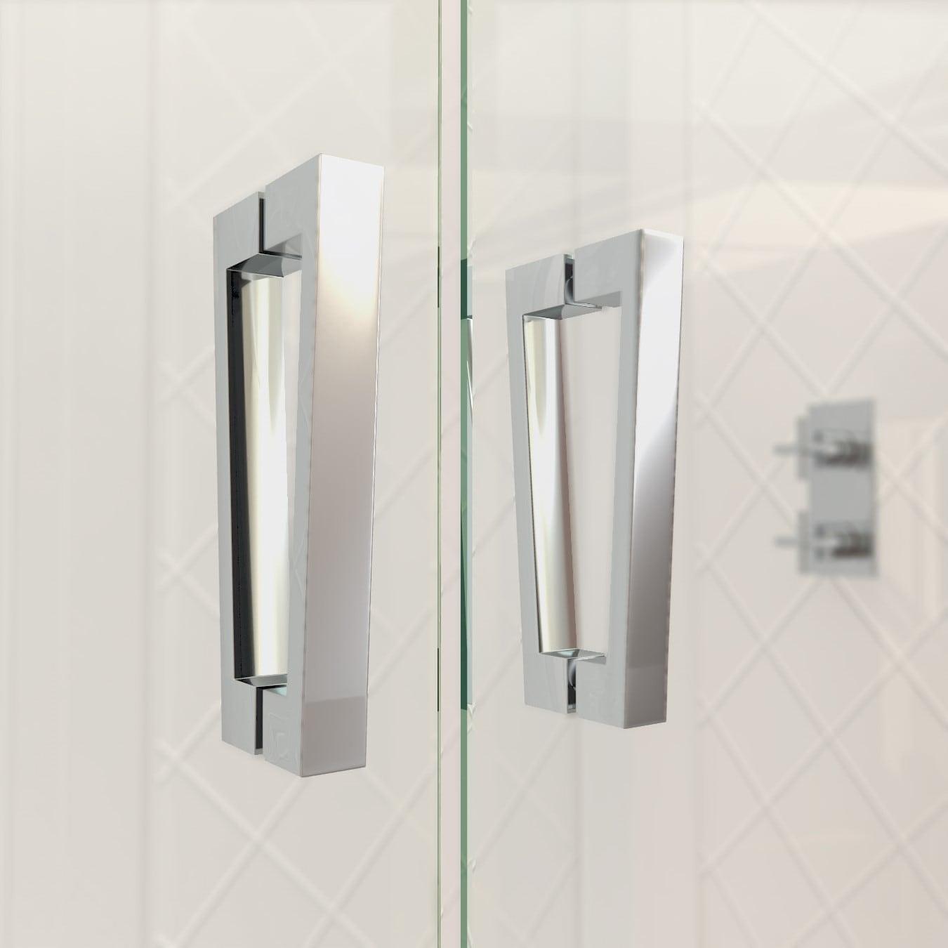 Shop Dreamline Butterfly 58 595 Inch Frameless Bi Fold Shower Door