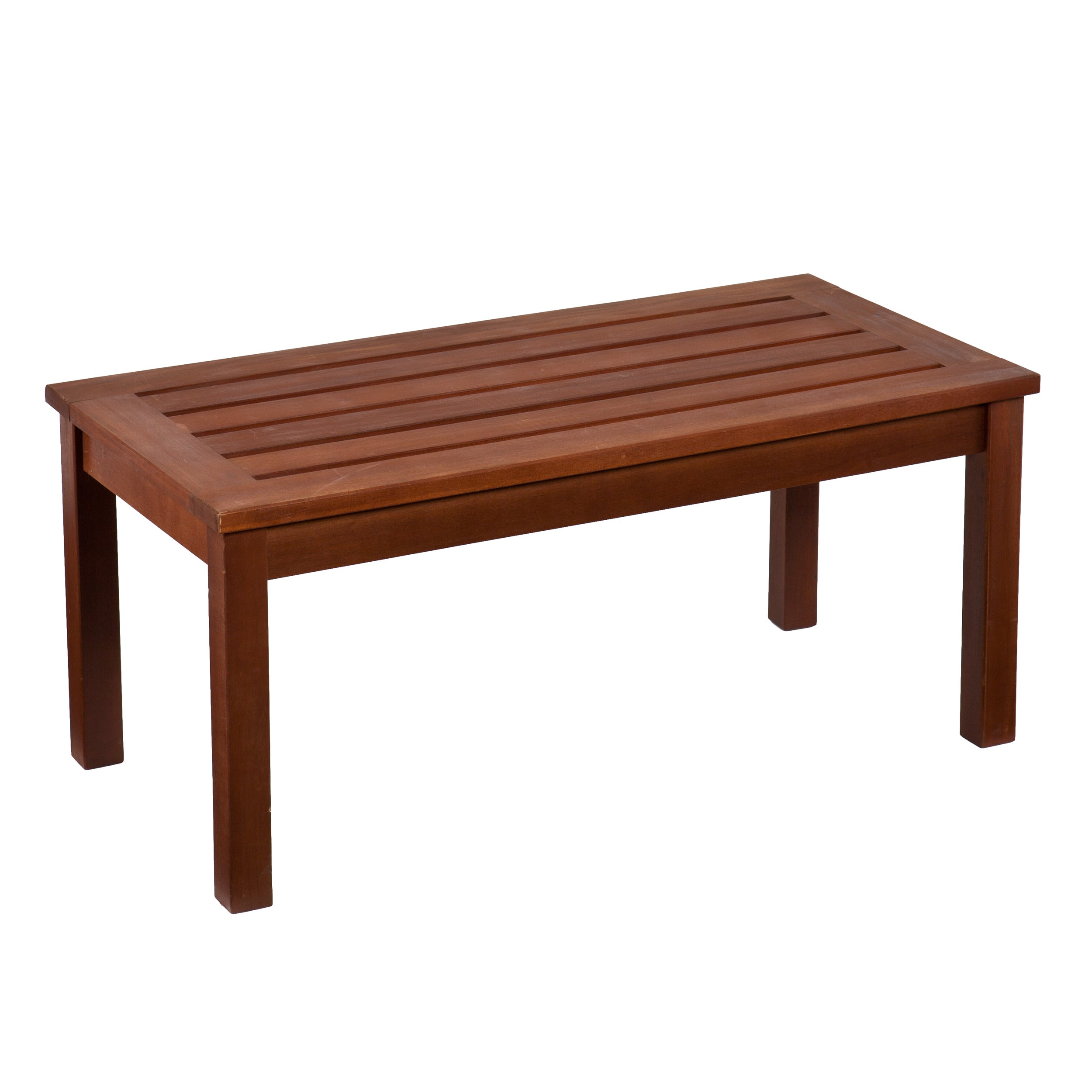 Shop harper blvd krueger hardwood outdoor cocktail coffee table free shipping today overstock com 8029245