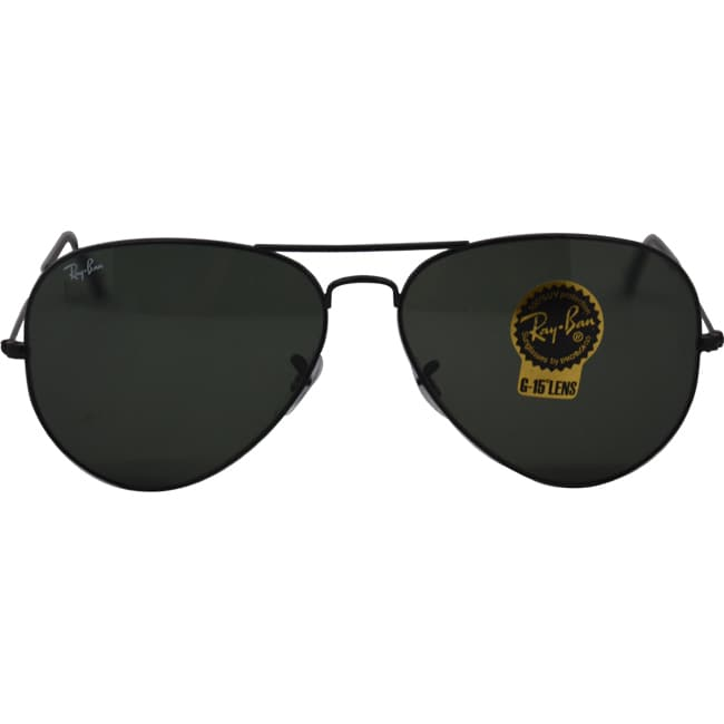 01f1f7946c Shop Ray-Ban RB3026 Aviator Sunglasses - Black - Free Shipping Today -  Overstock - 8032902