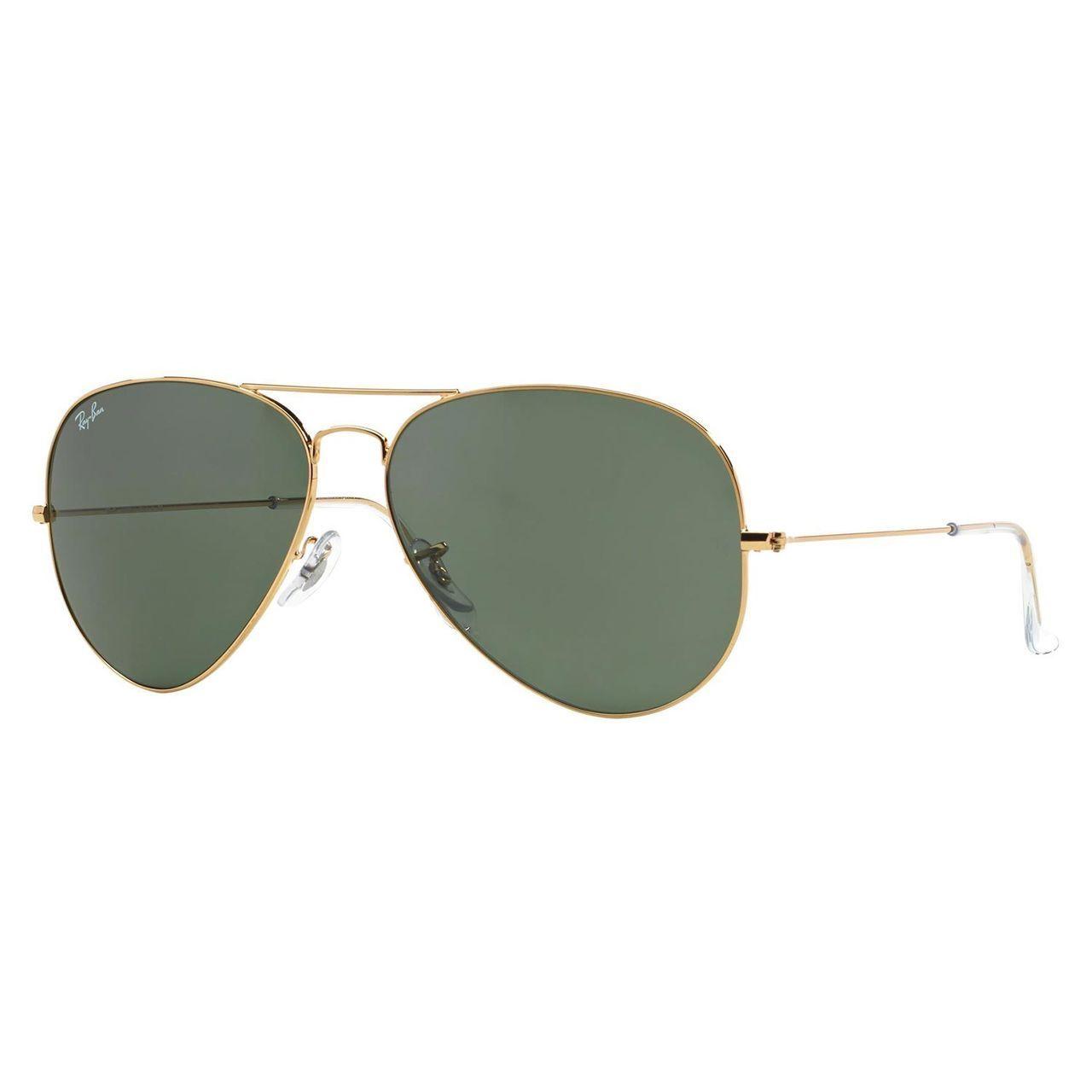 46a9a308e7e Shop Ray-Ban RB3026 Aviator Sunglasses - Gold - Free Shipping Today ...
