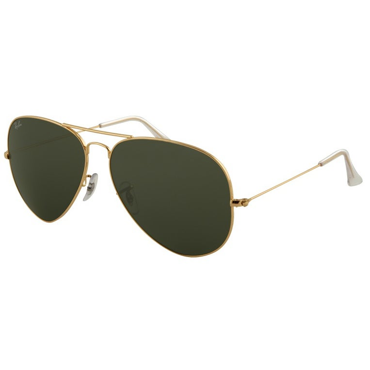 6c6a3b914c63d Shop Ray-Ban RB3026 Aviator Sunglasses - Gold - Free Shipping Today -  Overstock.com - 8032903