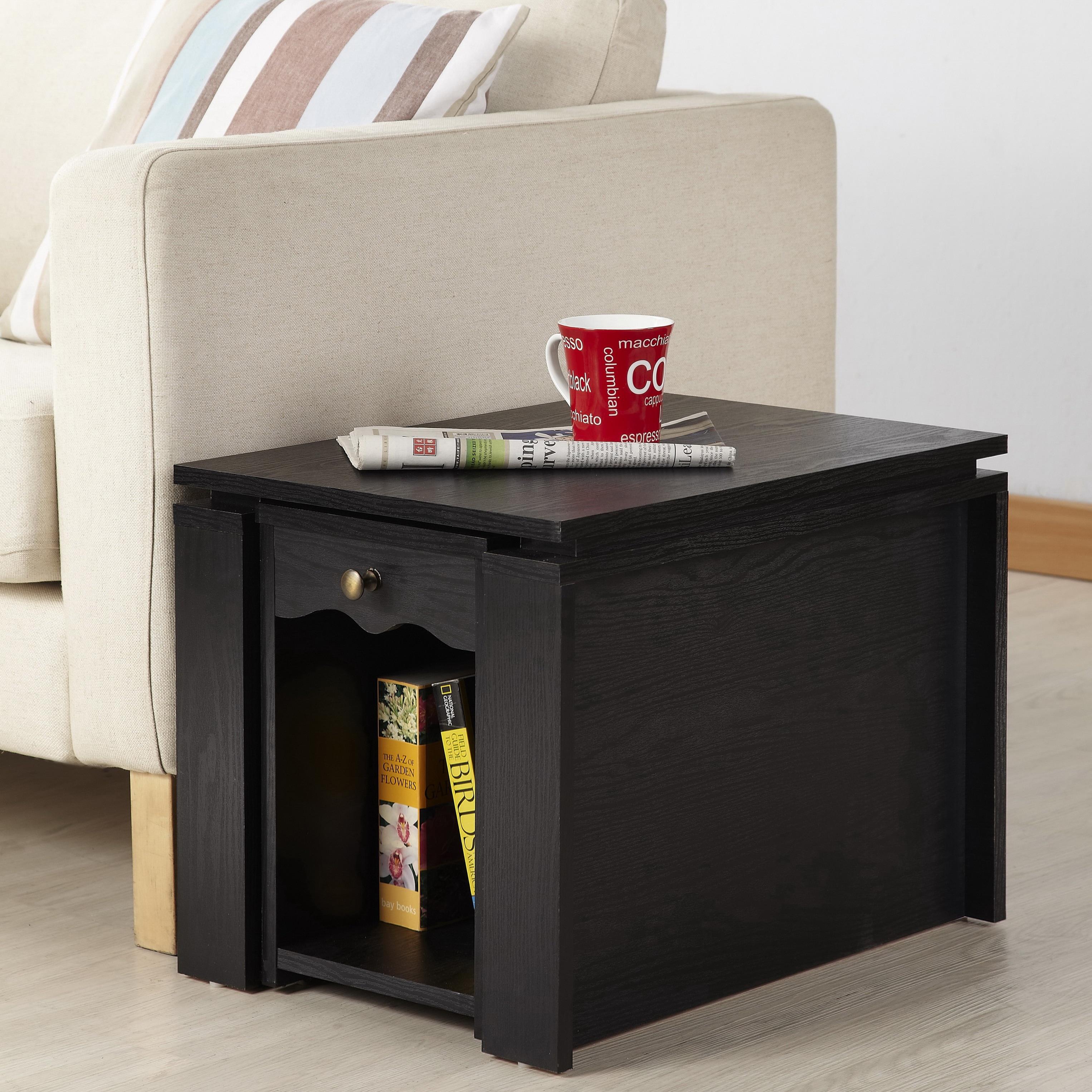 Shop Furniture of America Propel Contemporary 2 in 1 Black Finish